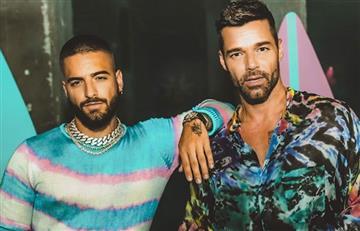 ¡Se vuelven a unir! Maluma y Ricky Martin estrenan su canción 'No se me quita'