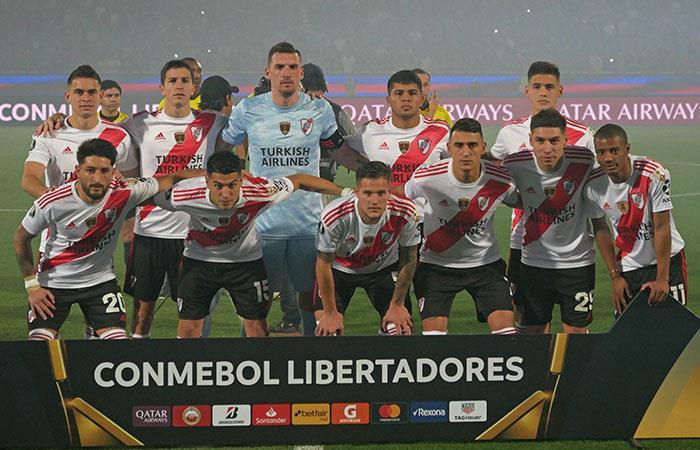 River Plate quiere repetir título de la Copa Libertadores. Foto: EFE