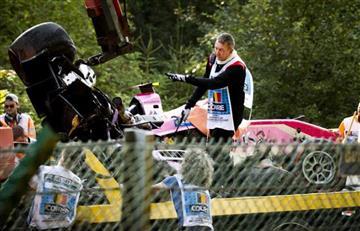 [VIDEO] Así fue el accidente donde perdió la vida el piloto Anthoine Hubert