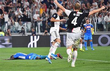 ¡Una final! Juventus venció 4-3 a Napoli en un emotivo encuentro