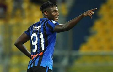 [VIDEO]Duvan Zapata regresó con goles en la Serie A