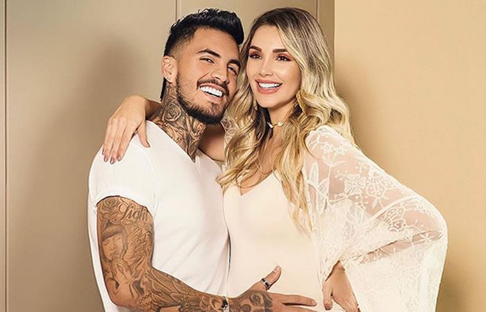 Así celebraron Melina Ramírez y Mateo Carvajal el primer mes de Salvador