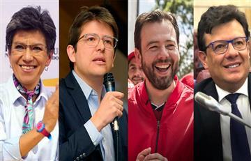Así van las encuestas electorales en Bogotá: Claudia López lidera y voto en blanco toma fuerza