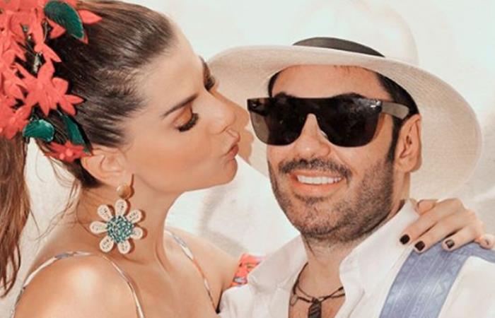 Carolina Cruz y Lincoln Palomeque son pareja hace 11 años. Foto: Instagram