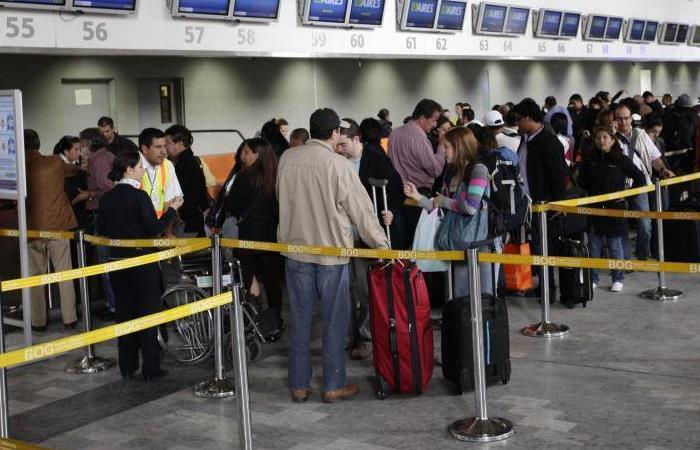 Con el crecimiento de la violencia, también crecen las medidas de seguridad en los aeropuertos de Colombia. Foto: Twitter