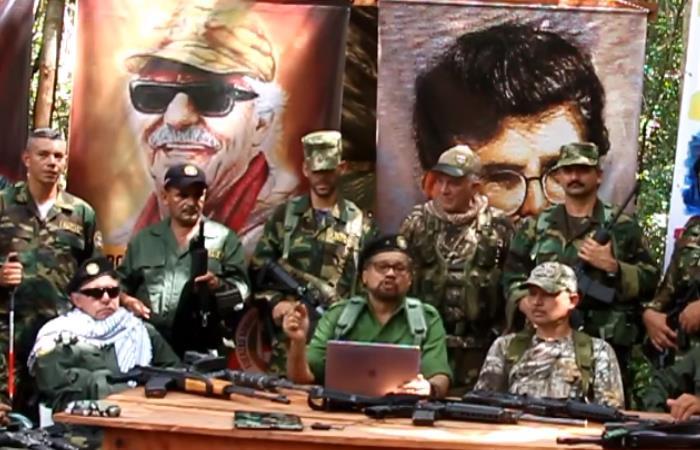 'Iván Márquez', quien fuese el segundo al mando de la antigua guerrilla de las FARC. Foto: Youtube