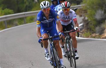 Philippe Gilbert ganó la etapa 12 de La Vuelta. Así quedaron los colombianos en la general