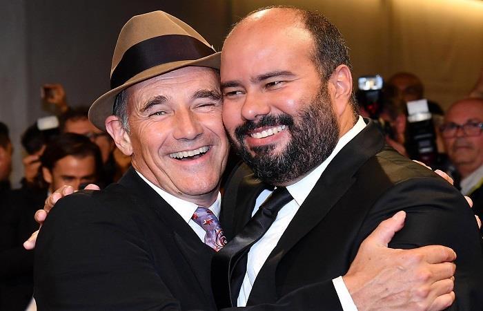 Actor Mark Rylance y Ciro Guerra. Foto: EFE