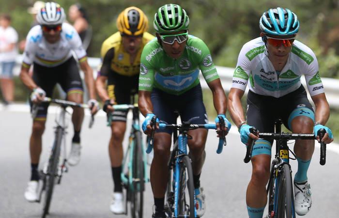 La Vuelta Declaraciones Nairo Quintana etapa 14