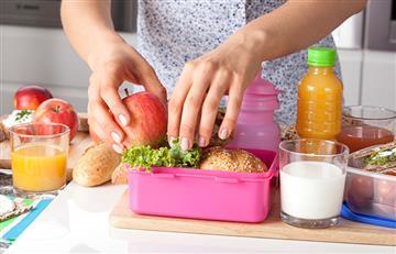 ¡Nutritivo y saludable! ¿Qué debe contener la lonchera de los niños?
