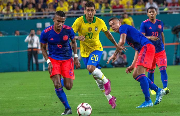 Selección Colombia formación amistoso Venezuela