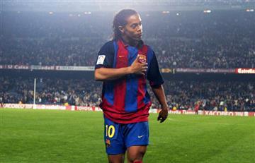 ¡Un león más! Ronaldinho jugará con Santa Fe y en el Campín