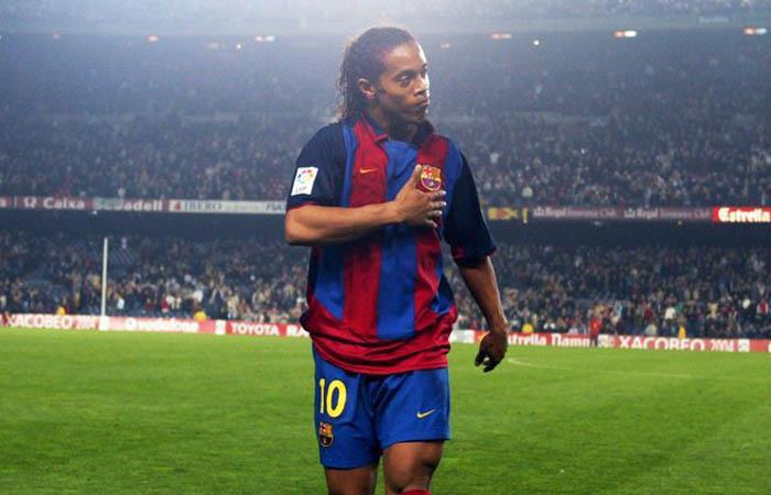 Ronaldinho independiente santa fe