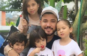 Bastante triste el momento por el que están pasando hijos de Jessi Uribe