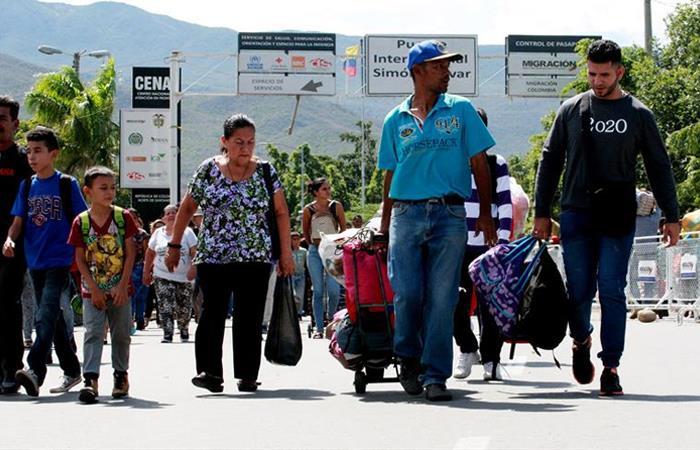 Migrantes venezolanos seguirán llegando a Colombia