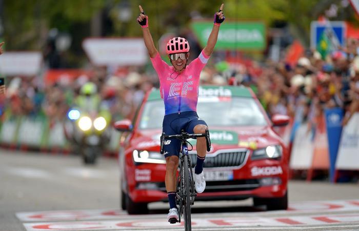 Sergio Higuita Rigoberto Urán La Vuelta declaraciones etapa 18