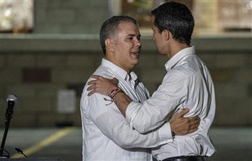 Iván Duque no cree que Juan Guaidó sea aliado de grupos paramilitares