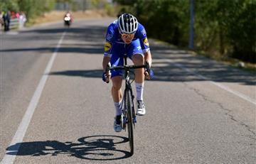 ¡Con caída y todo! Así se vivió la etapa 19 de La Vuelta a España