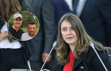 Paloma Valencia defendió a Juan Guaidó tras fotos con miembros de 'Los Rastrojos'