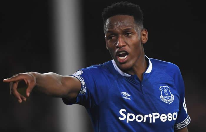 Premier League Everton Bouremouth Yerry Mina