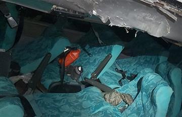 [FOTOS] Bus que se fue por un abismo en Tolima dejó 20 heridos