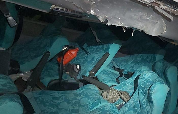 Bus con scouts se fue por un abismo en Tolima