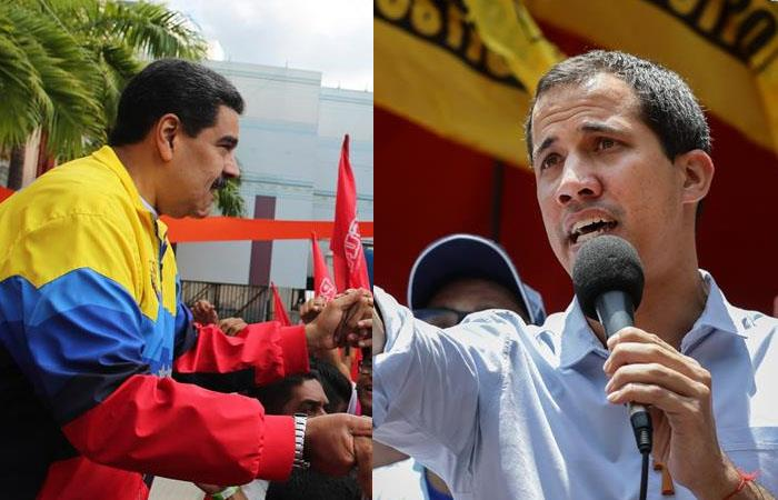 Juan Guaidó finaliza diálogos con Nicolás Maduro
