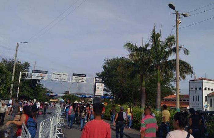 ¿Cuál es la cifra de venezolanos que habitan Colombia?