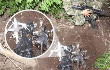 ¡Preocupante panorama! Ejercito encuentra dos drones cargados de explosivos