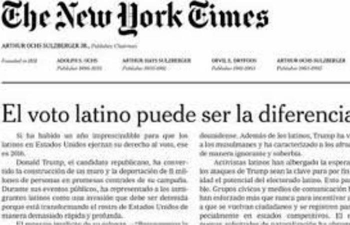 Triste noticia para el periodismo. Foto: Twitter