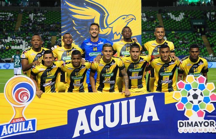 Alianza Petrolera suma 24 puntos en la Liga Águila II. Foto: Twitter @APetrolera