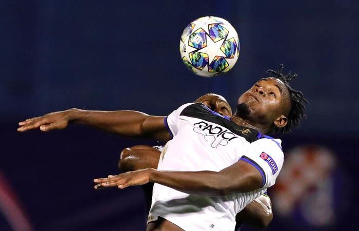 ¡Goleados! Amargo debut de Atalanta con Duván Zapata en Champions League