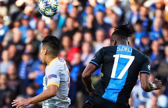 Resultado partido Brujas vs. Galatasaray Falcao García Champions League