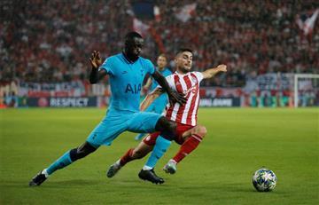 ¡Y eso que no estaba en su puesto! Dávinson Sánchez jugó los 90 minutos con Tottenham en Champions League