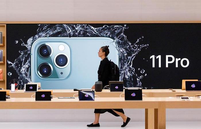 Estas son las características que podrán actualizar los usuarios de Apple. Foto: EFE