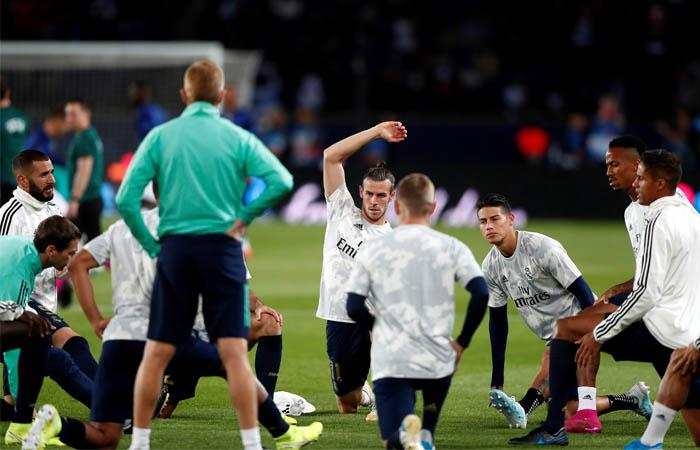 Champions League Areola Mbappe Foto PSG Real Madrid