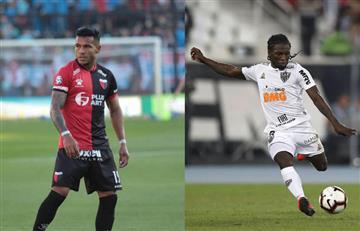 Wilson Morelo y Yimmi Chará buscan llegar a la final de la Copa Sudamericana