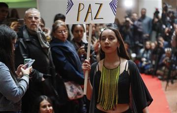 De las armas a la moda: Exguerrilleros de las FARC muestran su primera colección en una 'PAZarela'