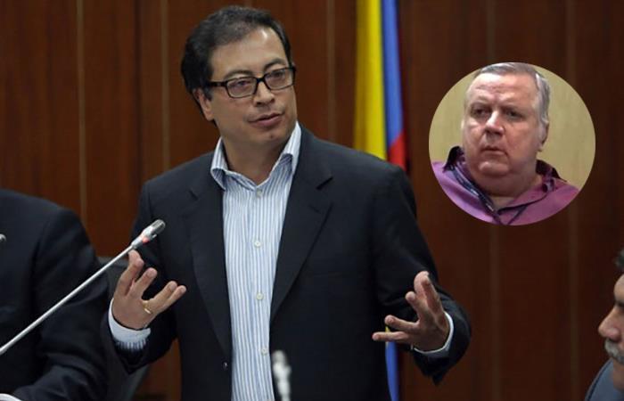 Gustavo Petro, senador de Colombia, y el fallecido Henrique Valladares, exvicepresidente de Odebrecht. Foto: Twitter