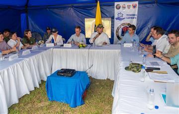 """Iván Duque reafirmó su apoyo a los desmovilizados """"legales"""" de las FARC"""