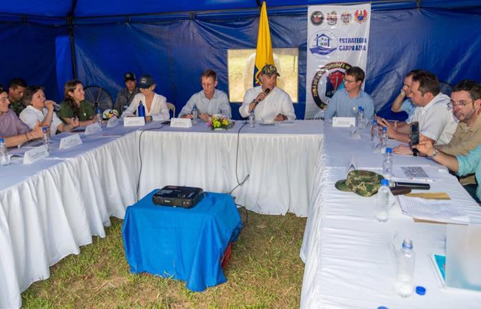 Iván Duque visitó a exguerrilleros en Colombia