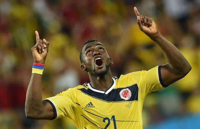 Jackson Martínez anotó dos goles en el Mundial de 2014. Foto: Twitter