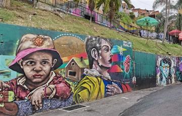 'El Grafiti Tour' de Bogotá y Medellín posicionó el color como mayor atractivo turístico