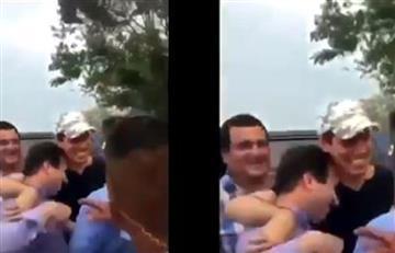 """¿Testimonio forzado? El gobierno de Guaidó habla de las fotos con """"Los rastrojos"""""""