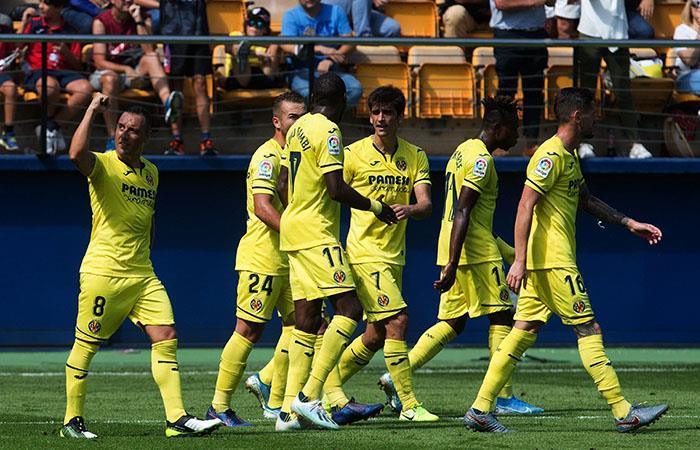 Con goles de Cazorla y Ontiveros, Villarreal consiguió otros tres puntos. Foto: EFE