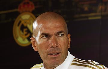 """""""Si no estoy respaldado mejor salir"""": Zinedine Zidane"""