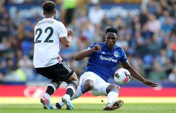 [VIDEO] ¡Ay, Yerry! Mina marcó un insólito autogol en la derrota de Everton