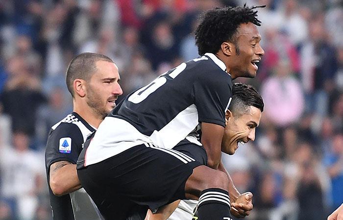 Serie A Juventus Hellas Verona Juan Guillermo Cuadrado