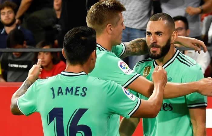 La Liga España Real Madrid James Rodriguez Zinedine Zidane