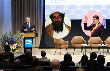 ¿Maduro bin Laden? Iván Duque comparó el régimen chavista con Al Qaeda